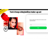 Get maybelline cosmetic Samples
